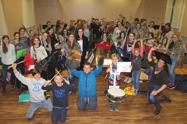 Neu gegründete Jugendkapelle fiebert ihrem ersten Auftritt entgegen
